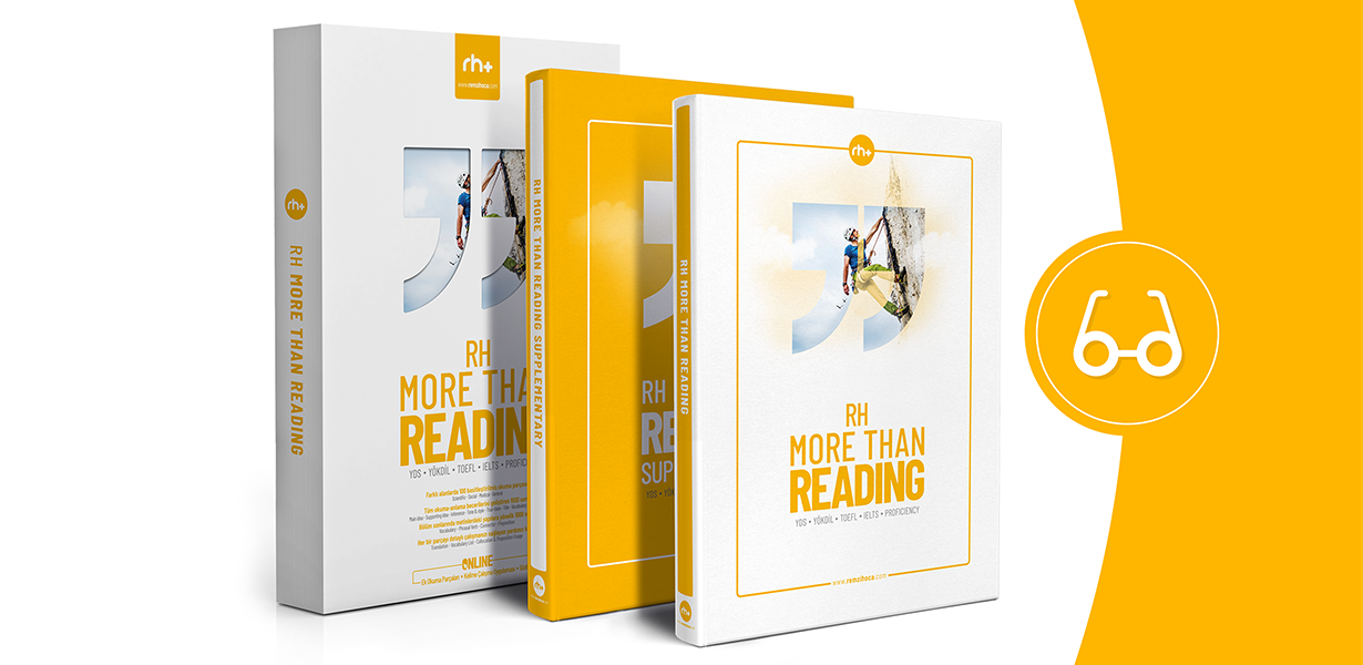 YDS, YÖKDİL, YKS-DİL Okuma Kitabı RH More Than Reading