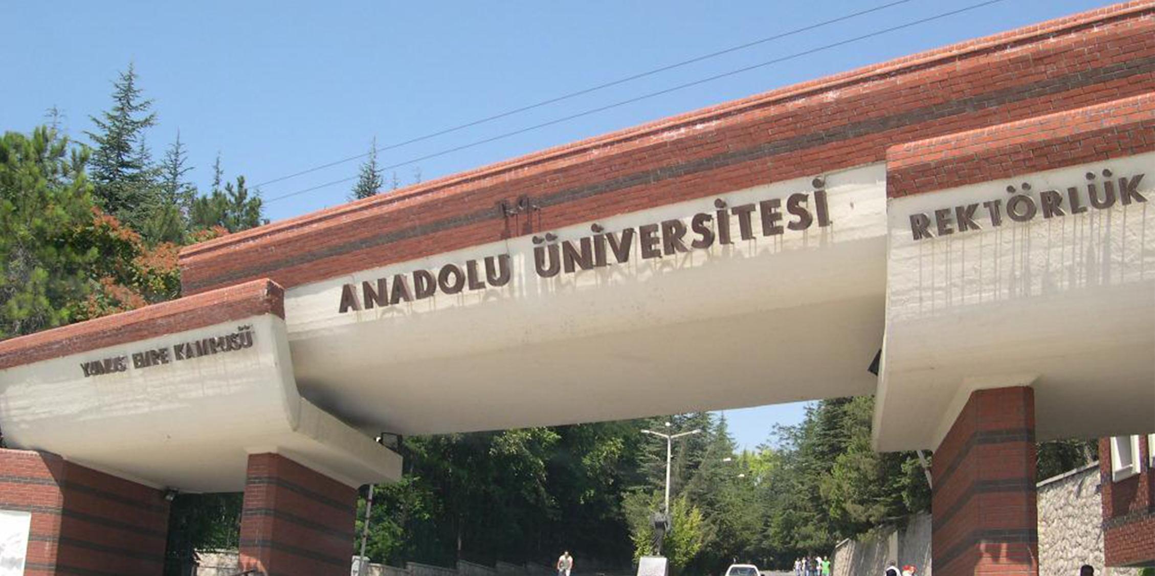 anadolu universitesi hakkinda bilgiler