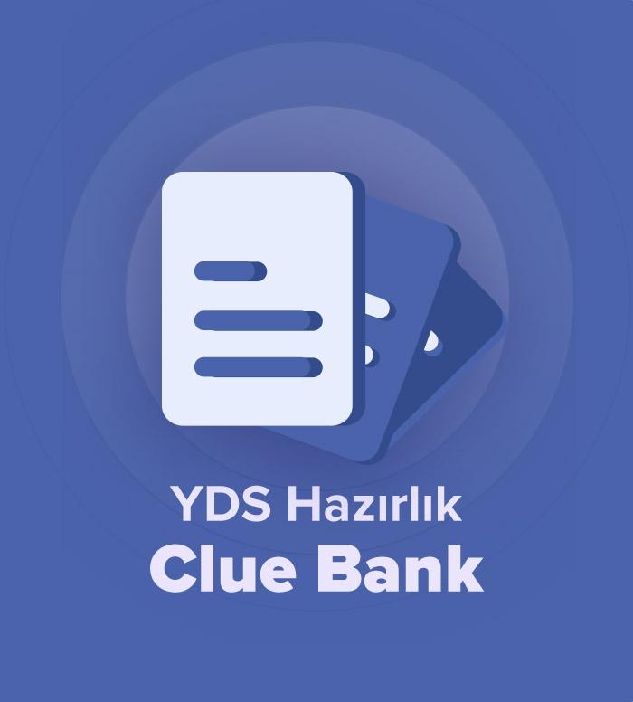 2019 İlkbahar YDS Hazırlık Cluebank