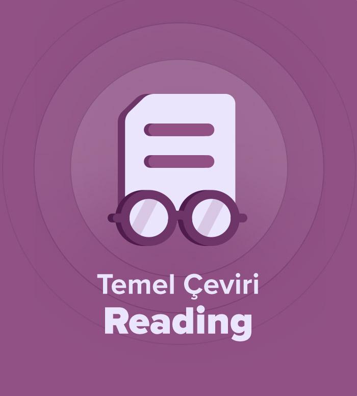 2019 İlkbahar Temel Akademik Çeviri Reading