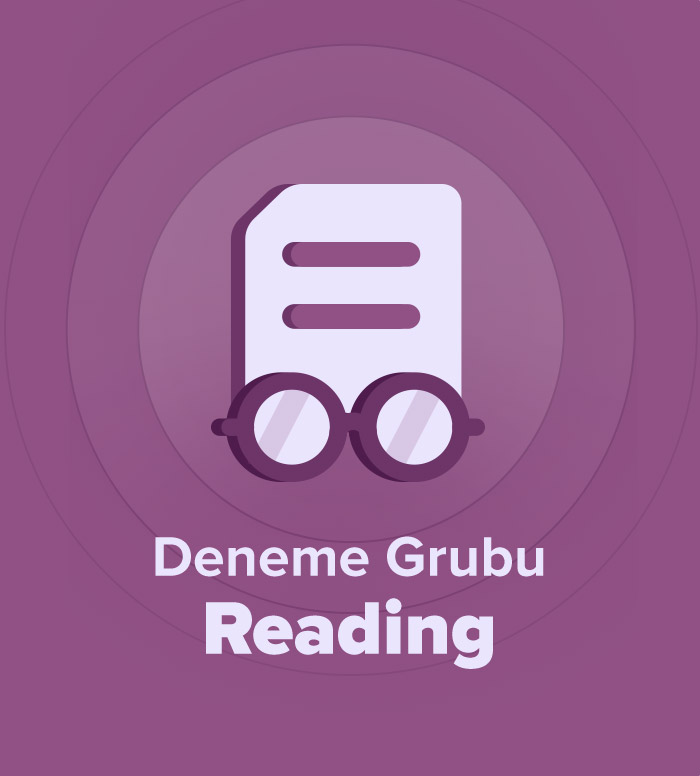 2018 Aralık YDS Deneme Grubu Reading