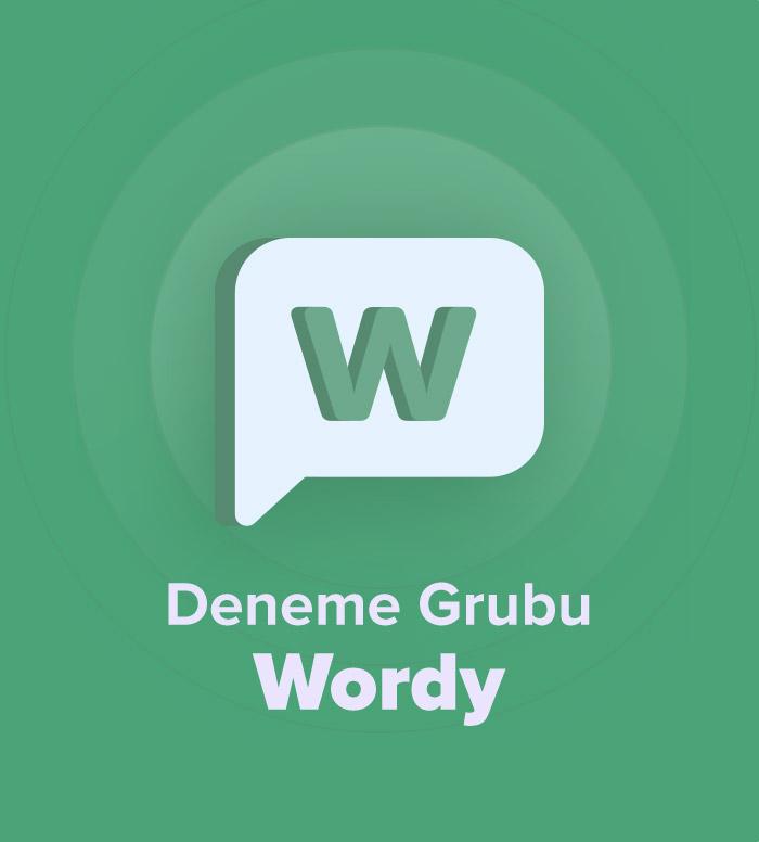 2018 Aralık YDS Deneme Grubu Wordy
