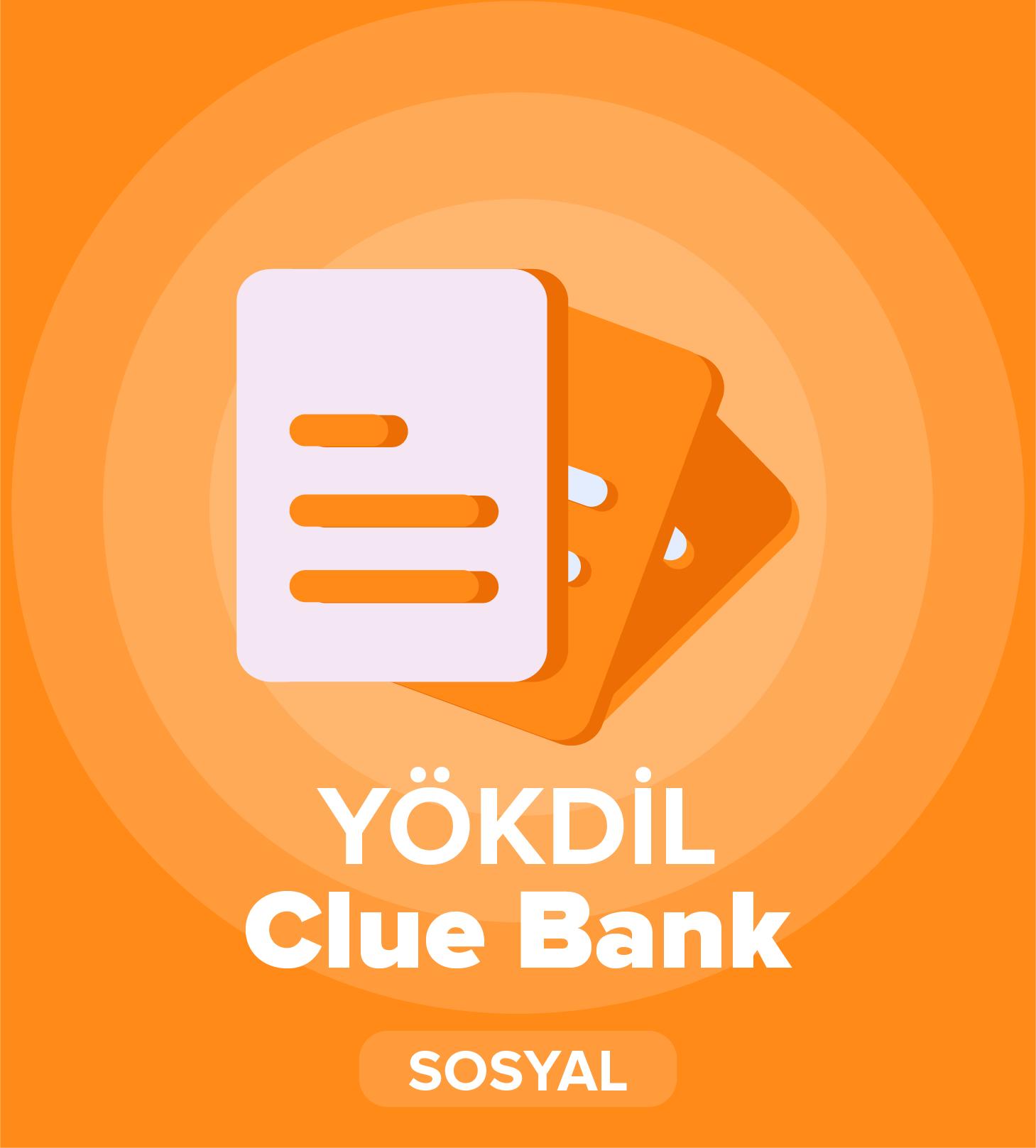 2019 İlkbahar YÖKDİL Sosyal Bilimler Cluebank