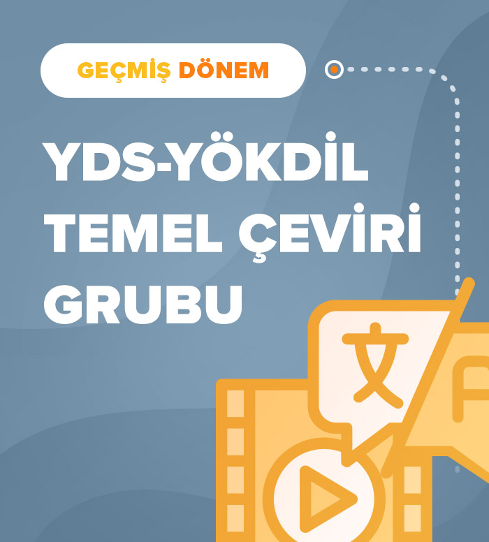 2018 Sonbahar Temel Akademik Çeviri