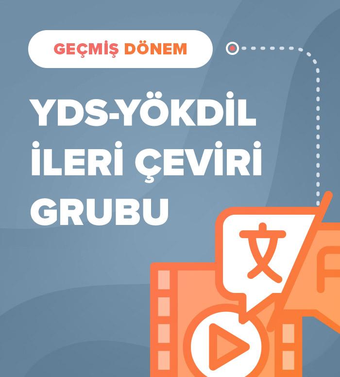 2018 Sonbahar İleri Akademik Çeviri