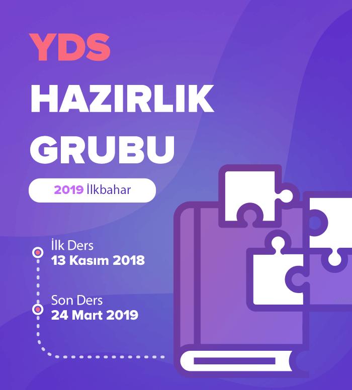2019 İlkbahar YDS Hazırlık