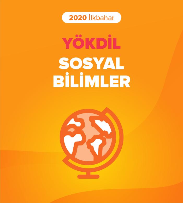 2020 İlkbahar YÖKDİL Sosyal Bilimler