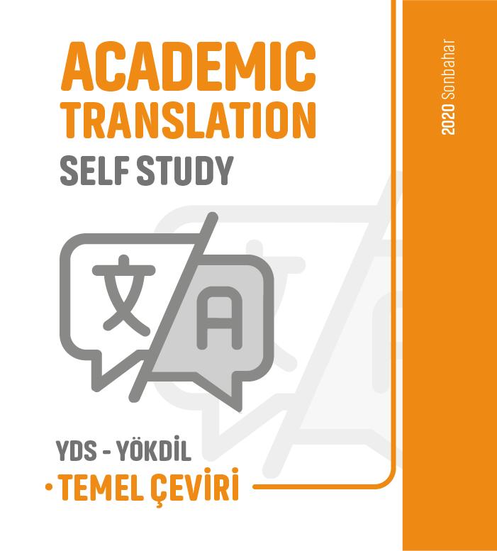 2020 Sonbahar Temel Çeviri Academic Translation Self-Study Ders Notu